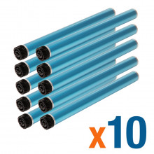 Kit 10 Cilindro HP Q2612A | 1010 1012 1015 1018 1020 1022 3015 3030 3050 3052 1319 M1005 | Importado