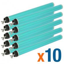 Kit 10 Cilindro HP CE505A | 505A | 05A | CE505X | 505X | 05X | P2035 P2035N P2055 P2055N | Importado