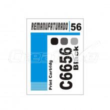 Etiqueta para Cartucho HP 56 | C6656 | 10 unidades