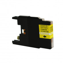 Cartucho de Tinta Compatível com Brother LC-75Y LC-79Y Amarelo | MFC-J6910DW J430W MFC-J6710DW 13ml