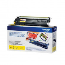 Toner Brother TN-210Y TN210 Amarelo | HL3040 HL3070 MFC9010 MFC9120 MFC9320 | Original 1.4k