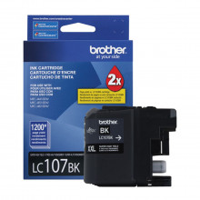 Cartucho de Tinta Brother LC-107BK LC-107 Preto | MFC-J4410DW MFC-J4510DW MFC-J4610DW Original 25ml