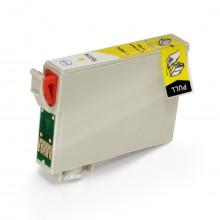 Cartucho de Tinta Compatível com Epson T140420 T140 Yellow | TX620FWD TX560WD T42WD | 15,8ml