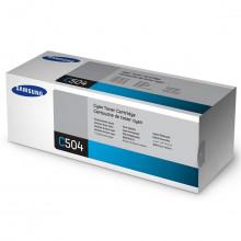 Toner Samsung CLT-C504S Ciano | CLX4195FW CLP415NW CLX4195FN C1860FW | Original 1.8k