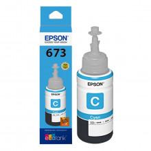 Tinta Epson T673 T673220 Ciano | L805 L800 L810 L1800 L850 | Original 70ml