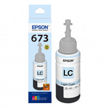 Tinta Epson T673 T673520 Ciano Claro | L800 L805 L810 L1800 L850 | Original 70ml