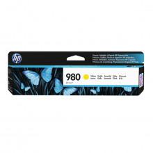 Cartucho de Tinta HP 980 D8J09A Amarelo   X585Z X555DN X555XH X585DN X585F   Original 83ml