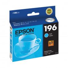 Cartucho de Tinta Epson T196220 T196 Ciano | XP101 XP201 XP214 XP401 XP411 WF-2532 | Original 4ml