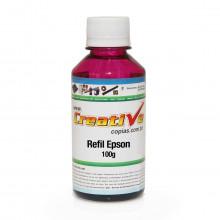 Tinta Epson Sublimática Universal Magenta MP4S-1054 Pigmentada | Com Bico Aplicador | Qualy Ink 100g