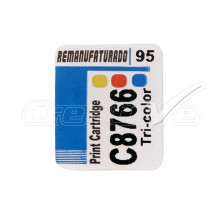 Etiqueta para Cartucho HP 95 | C8766 | 10 unidades