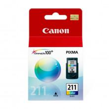 Cartucho de Tinta Canon CL-211 CL211 Color 2976B017AA | Original 9ml
