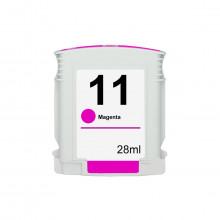 Cartucho de Tinta Compatível com HP 11 C4837A Magenta | 1000 2200 2300 2800 2600 3000 9120 | 28ml