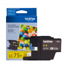 Cartucho de Tinta Brother LC-75Y LC-75 Amarelo | MFC-J6510DW MFC-J6710DW MFC-J430W | Original 7ml