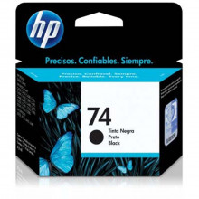 Cartucho de Tinta HP 74 CB335WB Preto | Photosmart C4480 C4280 C5280 | Original 4,5ml