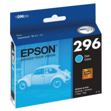 Cartucho de Tinta Epson T296220 T296220AL Ciano | XP-231 XP-431 XP-214 XP-441 | Original 4ml
