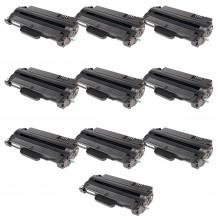 Kit 10 Toner Compatível com Samsung MLT-D105S ML1910 ML1915 ML2525 ML2580 SCX4600 SCX4623 CF650P