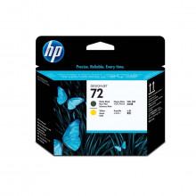 Kit de Substituição de Cabeça de Impressão HP 72 Preto Fosco/Amarelo | C9384A | Original
