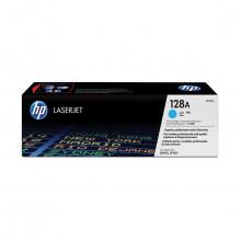 Toner HP CE321A CE321AB 128A | Ciano | CM1415FN CM1415FNW CP1525NW | Original 1.3k