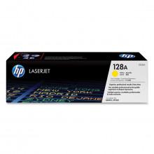 Toner HP CE322A CE322AB 128A | Amarelo | CM1415FN CM1415FNW CP1525NW | Original 1.3k