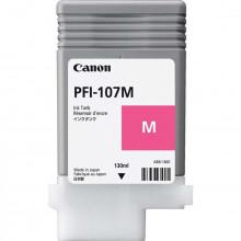 Cartucho de Tinta Canon PFI-107 PFI-107M Magenta | Original 130ml