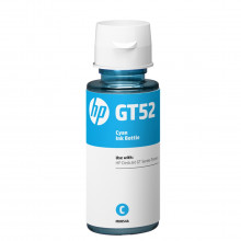 Tinta HP GT52 GT 52C M0H54AL Ciano | GT5822 Ink Tank 416 Smart Tank 517 532 617 | Original 70ml