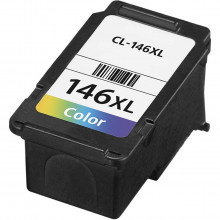Cartucho de Tinta Compatível Canon CL-146XL CL146 Color | MG2410 MG2510 IP2810 | Importado 10ml