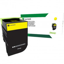 Toner Lexmark 808SY 80C8SY0 808S Amarelo | CX510 CX410 CX310 510DE 410DE 510DHE 310DN | Original 2k