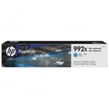 Cartucho de Tinta HP 992XC 992X Ciano M0K07XC | PageWide Pro 77740DW 77750 75050 | Original 193ml