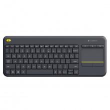 Teclado HTPC Logitech K400 Plus Sem Fio Keyboard Touchpad | Compatível com Smart TV