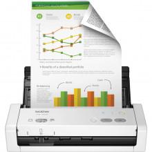 Scanner Brother ADS-1250W Portátil Conexão Wireless e Duplex