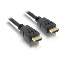 Cabo HDMI 1m e 80cm de comprimento Versão 1.4 Conector PVC | Preto Elgin