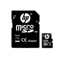Cartão de Memória 64gb HP Micro SD | C10 U1 | HFUD064-1U1BA