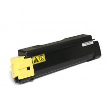 Toner Compatível com Kyocera TK592 TK592Y Amarelo | M6026 M6526 P6026 C2026 C2126 C2526 | Zeus 7k