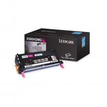Toner Lexmark X560H2MG X560 Magenta | X560N | Original 10k