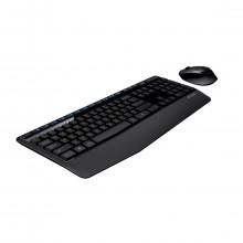 Kit Teclado e Mouse Logitech USB Sem Fio 920-007821 MK345