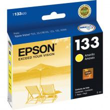 Cartucho de Tinta Epson T133420 T133 T1334 Amarelo | T25 TX125 TX420W TX123 TX320F | Original 5ml