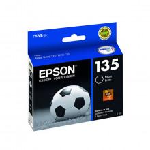 Cartucho de Tinta Epson T135120 T135 T120 Preto | T25 TX125 TX123 TX133 TX135 | Original 5ml