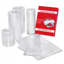 Polaseal para Plastificação Tamanho Ofício   222 x 336 mm   125 MIC   100 Unidades