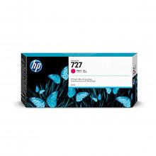 Cartucho de Tinta para Plotter HP 727 F9J77A Magenta | Designjet T1500 T920 T930 | Original 300ml