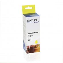 Tinta Compatível com Epson T504 T504420 Amarelo | L4150 L4160 L6171 L6191 L6161 | Katun Select 70ml