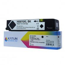 Cartucho de Tinta Compatível com HP 970XL CN625AM Preto | X476DW X476DN X451DW | Katun Business Ink