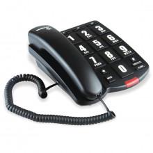 Telefone com Fio Intelbras Tok Fácil com Teclas Grandes   Preto