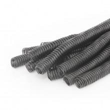 Espiral para Encadernação Preto | Tamanho Ofício 23mm para 140 folhas | Pacote com 60 Unidades