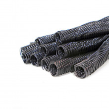 Espiral para Encadernação Preto | Tamanho Ofício 25mm para 160 folhas | Pacote com 45 Unidades