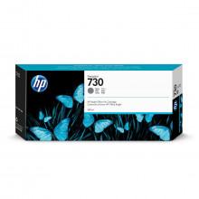 Cartucho de Tinta HP 730 Cinza P2V72A | Plotter HP T1600 T1700 | Original 300ml