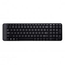 Teclado Wireless Sem Fio Keyboard Logitech K230 920-004425 | Preto