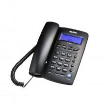 Telefone com fio Elgin TCF3000 com Identificador de Chamada e Viva Voz | Preto