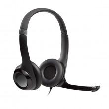 Fone de Ouvido com Microfone Headset H390 981-000014 | Ideal para Jogos Online | Logitech