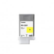 Cartucho de Tinta Canon PFI-120 PFI-120Y Amarelo | TM200 | Original 130ml