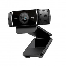 Webcam Logitech C922 Pro Stream Full HD | 1080P 30QPS 720P 60QPS | Preto